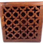 Caja de madera tallada - para joyas, recuerdos, cartas de tarot, popurrí o dijes 7